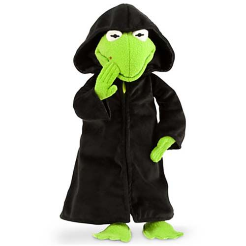 Your WDW Store - Disney Plush - Muppets Most Wanted Constantine (Evil Kermit the frog)