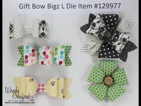 Gift Bow Bigz L Die new from STampin' UP! in the Holiday Catalog