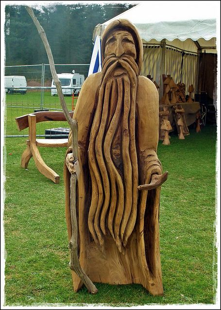 Chainsaw wood carvings carving flickr