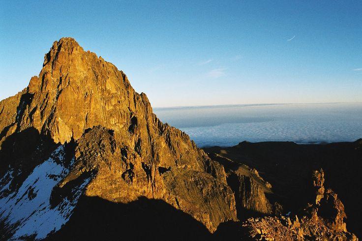 Mount Kenya - Kenya.