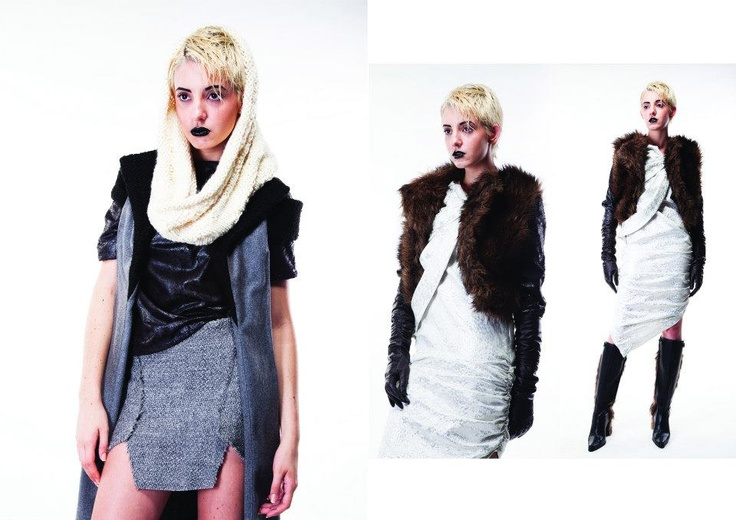 ERWIN   Fall 2013: Void Days (Photo by Edward Lee, Make-up by Stella Tjia)