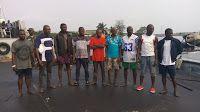 Hot News Naija: NIGERIAN NAVY HANDS OVER 12 SUSPECTED OIL THIEVES ...