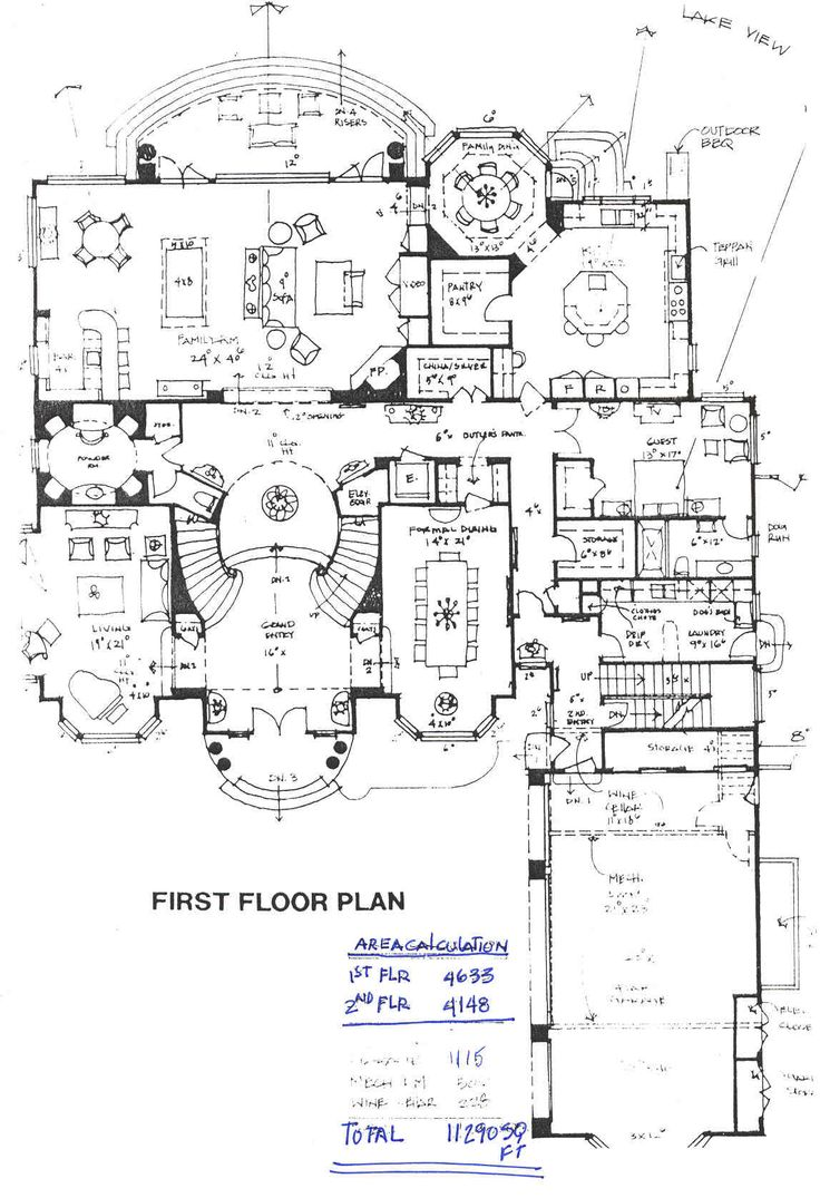 pretty design plan for house. I d use that guest room as my study  but this layout is pretty perfect 9367 best House Plans Floor images on Pinterest