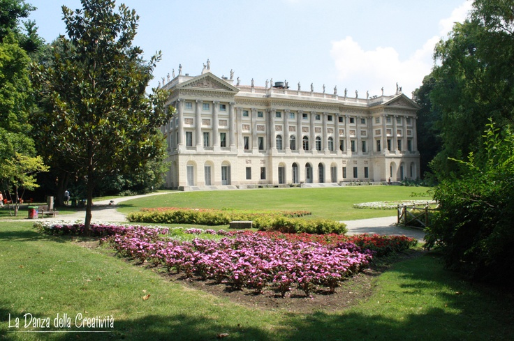 Milano: I Giardini Pubblici e la Villa Reale - Post created by Rita Bellussi, La Danza della Creatività ... read more and see more photos clicking on image.
