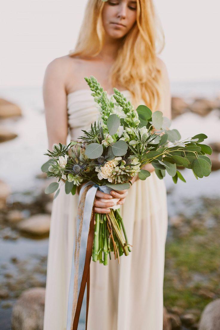 fresh green bouquet