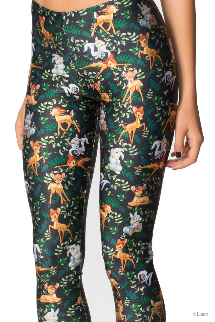Bambi Leggings (WW $85AUD / US $80USD) by Black Milk Clothing