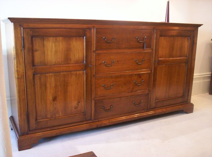 Mansfield Sideboard- With Adjustable Internal Shelves -  Cherry Wood