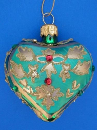 976 best Heart shaped Christmas ornaments images on Pinterest