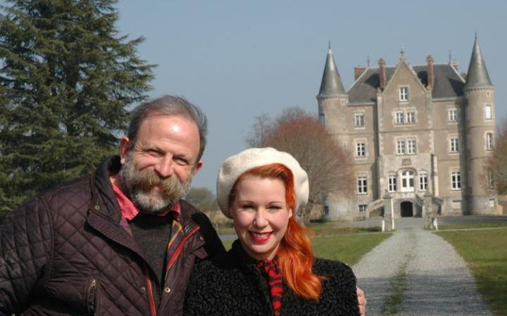 Dick Strawbridge and his wife Angel Adoree, http://www.telegraph.co.uk/property/abroad/we-bought-a-crumbling-french-chteau---but-restoring-it-was-no-fa/