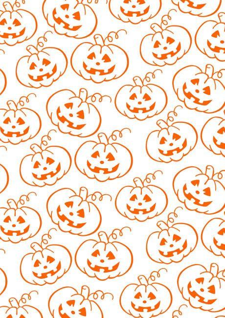 Freebie   Halloween Scrapbook Paper Pumpkin Patch