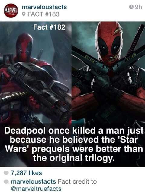 Deadpool fact