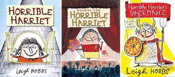 Horrible Harriet books by Leigh Hobbs