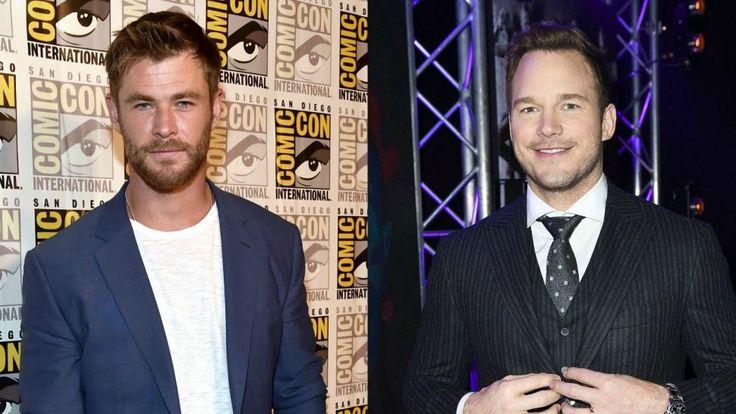 Chris Hemsworth Wants to Be Chris Pratt -- See the Hilarious Pic! | Entertainment Tonight