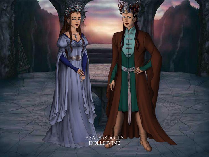 Elf Queen Eleanor and Elf King Richard