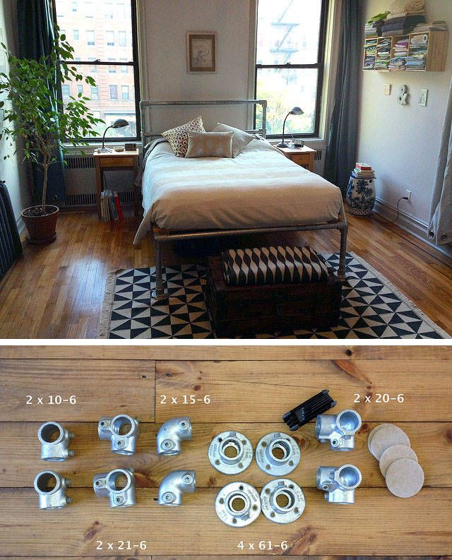 bett selber bauen 12 einmalige diy bett und bettrahmen ideen sonstiges pinterest bett. Black Bedroom Furniture Sets. Home Design Ideas