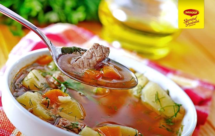 A tasty sweet soup // Delicioasa supa dulce -> https://www.facebook.com/MAGGI.Romania
