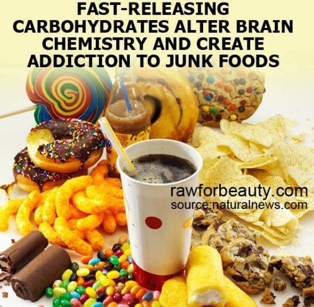 addiction to junk food Junk food is a comprehensive term, and pretty much encompasses anything that adds calories, fat and sugar with few nutrients to back it up soda is a big-time culprit, as are salty snacks.