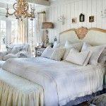Стиль «потертый шик» для оформления спальни