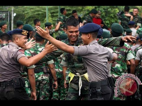 Kompilasi Yel-Yel TNI Joget Ala Prajurit