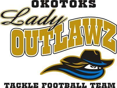 Okotoks Lady Outlawz (High River, Alberta) Western Women's Canadian Football League #OkotoksLadyOutlawz #WWCFL #HighRiverAlberta (L17876)