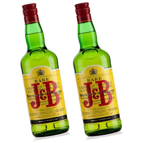 Whisky J&B 1 Litre - LOT DE 2