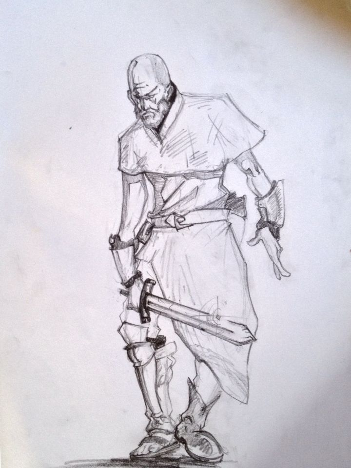 Travelling warrior
