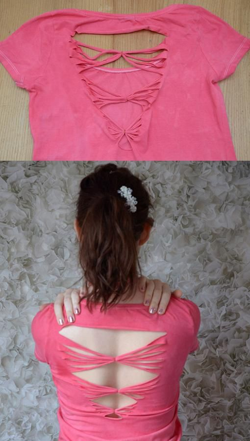 1000 ideas sobre cortar camisetas en pinterest camisas
