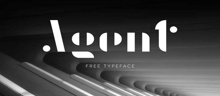 Fresh Free Font Of The Day : Agent