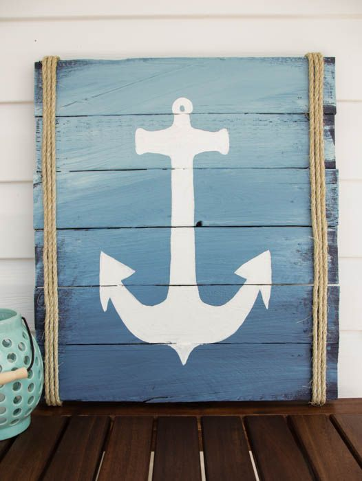 thehappyhousie.porch.com wp-content uploads 2015 05 DIY-Anchor-Pallet-Sign-at-thehappyhousie.com-12.jpg