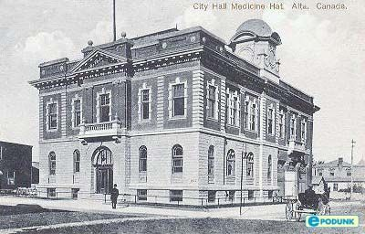 City hall, Medicine Hat, ALberta