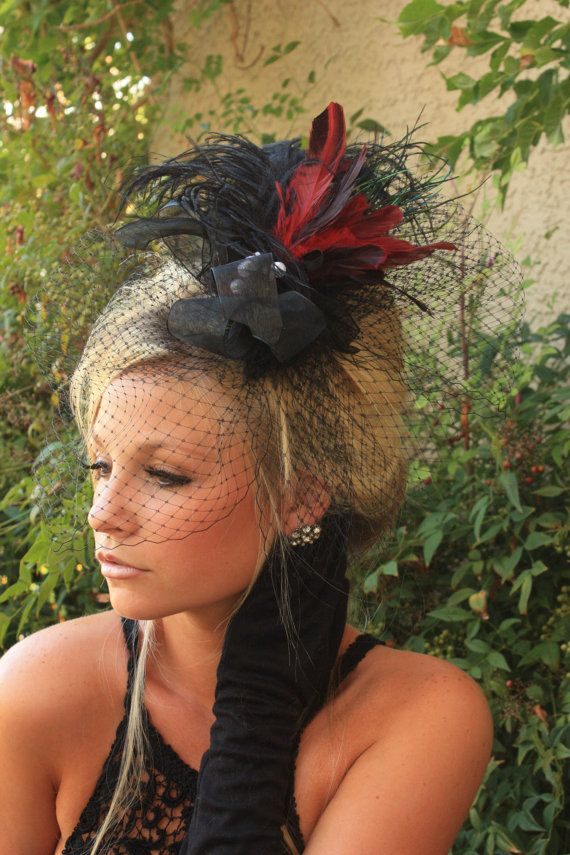 I really love fascinators... I know, weird, but I cannot help myself!