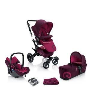 Kinderwagen-Set pink von Concord