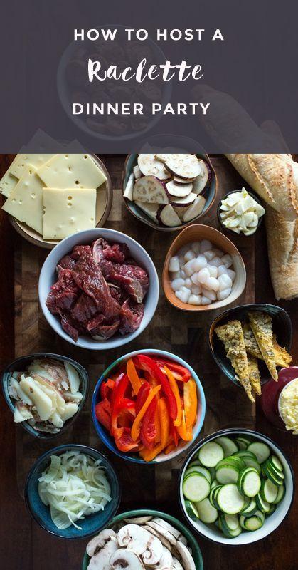 Echtes Essen Raclette Dinner Party – Elizabeth Walling