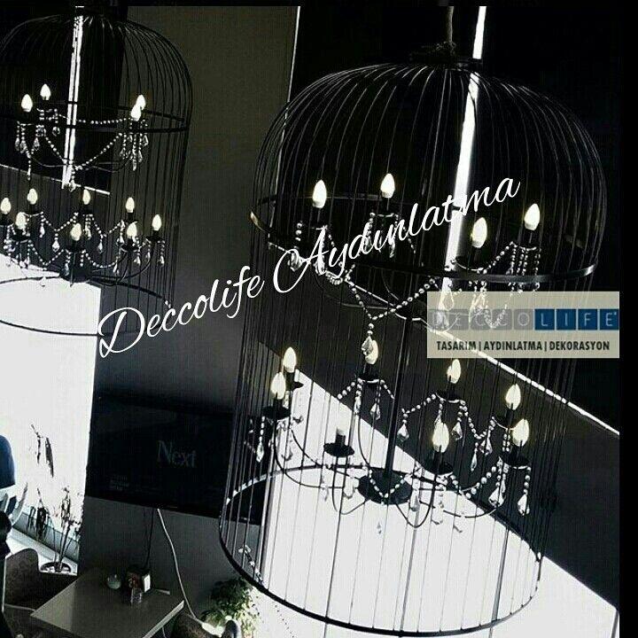 Deccolife Aydınlatma-Mimarî Özel Tasarım Aydınlatma Atölyesi #lighting #Avize #aydınlatma #deccolife #kuskafesiavize #özeltasarımavize #design #mimari #sarkıtavize #ankaraavize #light
