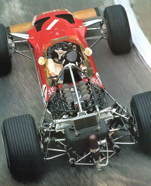 Graham Hill. Lotus.