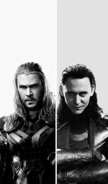 Thor & Loki cell phone wallpaper<- let's cut out the one on the left...I have a feeling the one on the right is a keeper