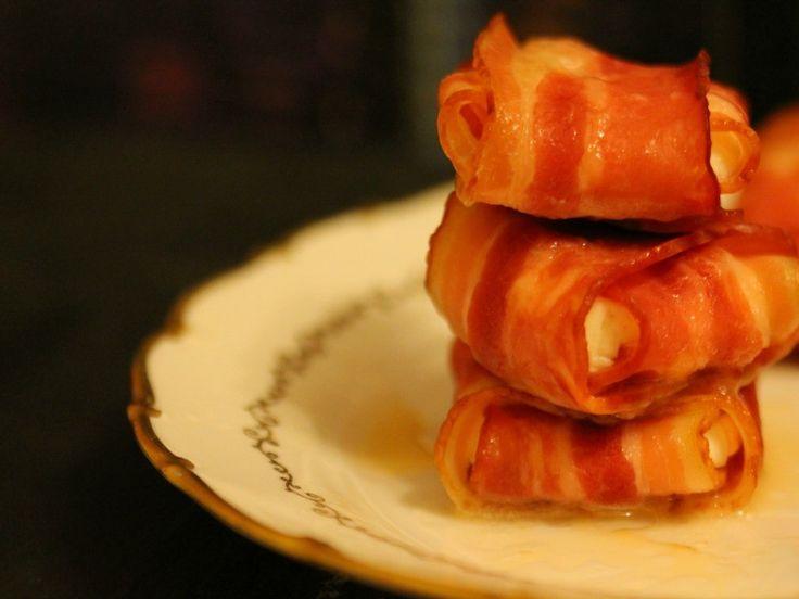 Pachetele cu bacon si branza de capra - Carrefour-Pentru o viata mai buna