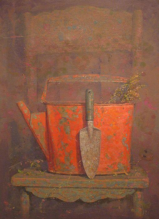 Kirill Doron(Russian/American )  Savor  oil on canvas