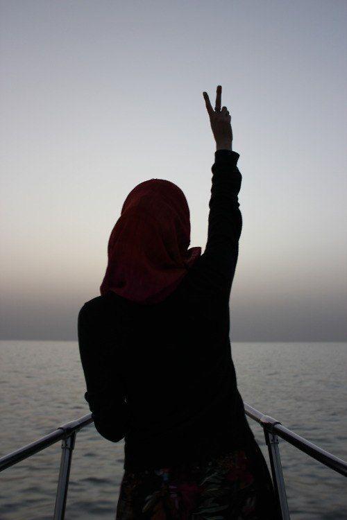 Muslim Woman Peace