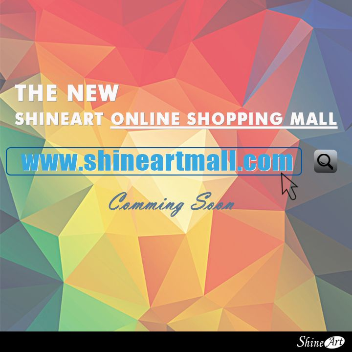 <Great News> Finally, Shine Art will open Online Shopping Mall! Coming soon!