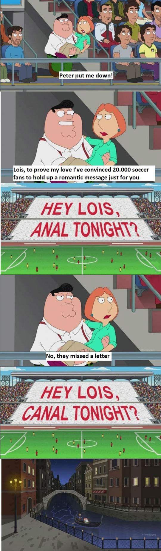 Family Guy in Italy…