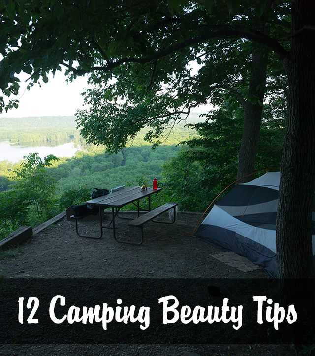 12 great camping beauty tips