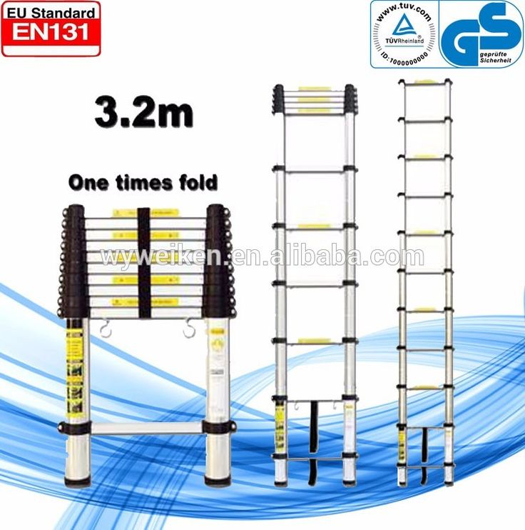 GS standard Aluminium ladder/ escalera de aluminio