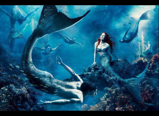 Annie Leibovita - Julianne Moore & Michael Phelps