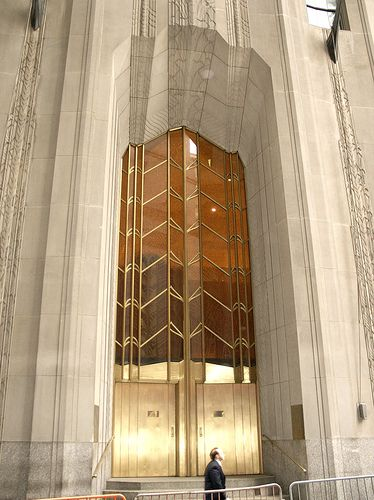 1 Wall Street, New York art deco gold (photo by colros)  Rent-Direct.com - Apts for Rent in NYC with No Broker Fee.