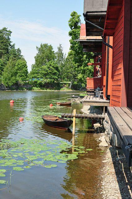 Porvoo riverside, Finland