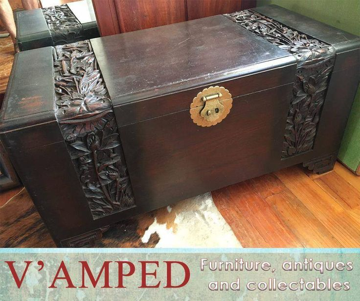 Camphor Wood Chest, available from #VampedFurniture would add absolute style to your home. For more information on these items, please call Rory on 076 983 4008. Delivery available nationwide on arrangement.