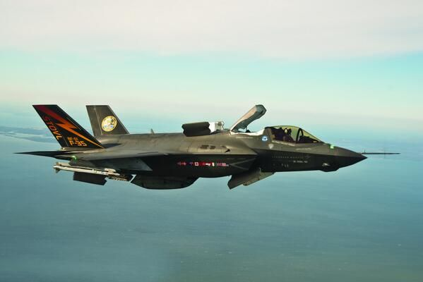 Lockheed Martin F-35B Lightning II, STOVL version stealth multirole fighter 2008