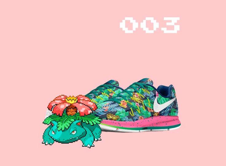 pokeID – Ils imaginent des paires de Nike customisées pour chaque Pokémon