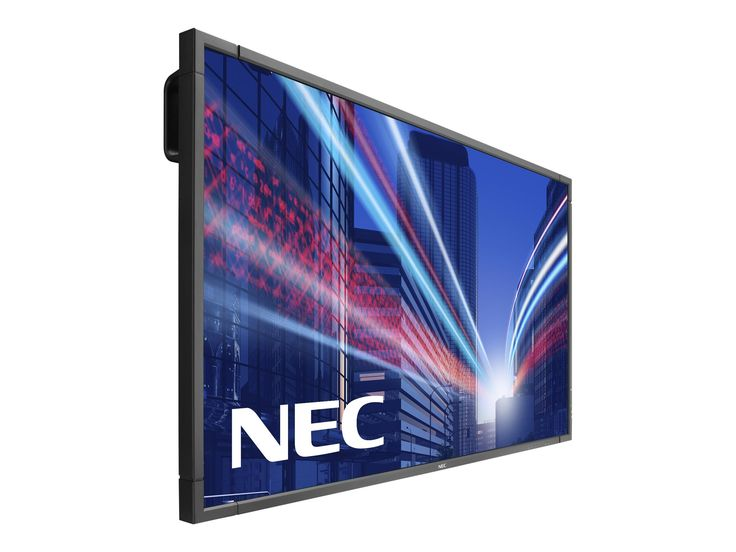 NEC Display P703 MultiSync, 70'' 1080p Full HD LED-Backlit LCD Flat Panel Display, Black. LED backlighting technology improves power consumption and allows for a slimmer Cabinet depth. 700 CD/M2 max brightness combined with full HD resolution will capture the attention of the audience. Industrial-strength, premium-grade panel with additional thermal protection, internal temperature sensors with self-diagnostics and fan-based technology, allows for 24/7 operation. Dual expansion slots…